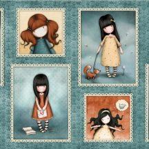 Heartfelt - Girl Patch Panel (Gorjuss)