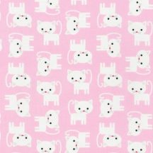Urban Zoologie Cats on Pink