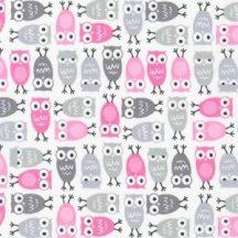 Urban Zoologie Minis Owl Pink