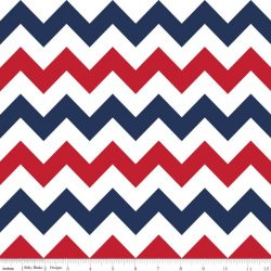 Medium Chevron Patriotic