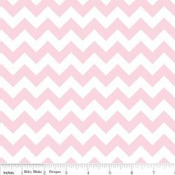 Small Chevron Baby Pink