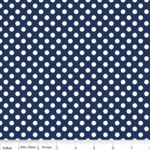 Small Dots Navy
