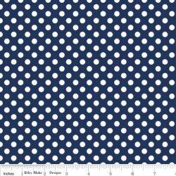 Small Dots Navy