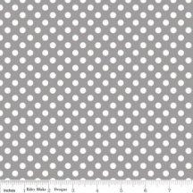 Small Dots Gray