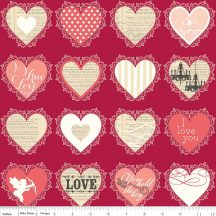 Lost and Found Love Valentines Hearts Red