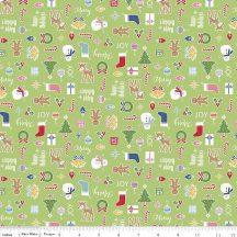 Cozy Christmas Main Green