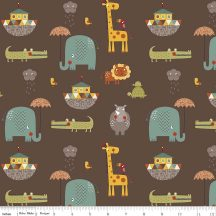Giraffe Crossing 2 Main Brown