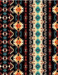Tribal Print Black