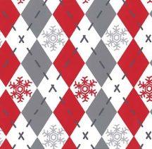Woodland Winter Santa Argyle Sweater