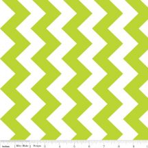 Medium Chevron Dreamy Color Lime