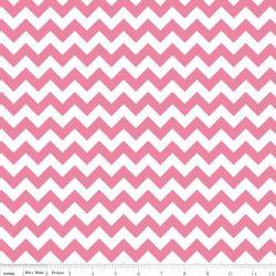 Knit Small Chevron Hot Pink
