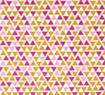 Wander Triangles Rosette