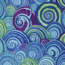 Philip Jacobs - Spring 2015 -Spiral Shells - Blue