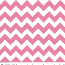 Hollywood Sparkle Med Chevron Hot Pink