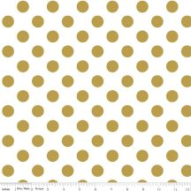 Sparkle Gold Medium Dot