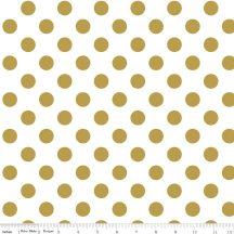 Sparkle Gold Medium Dot