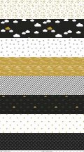 When Skies Are Grey Stripe Black