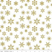Snowflake Sparkle Color Gold