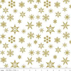 Snowflake Sparkle Color Gold