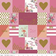 On Trend Notecards Raspberry in Sparkle