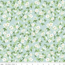 Safari Party Floral Mint With Sparkle