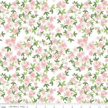 Safari Party Floral White With Sparkle