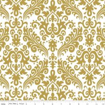 Sparkle Gold Medium Damask