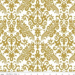 Sparkle Gold Medium Damask