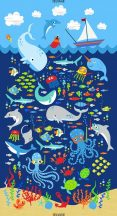 Sealife Panel Navy