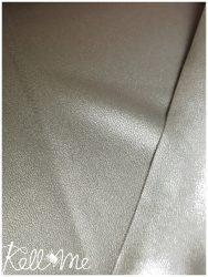 Textilbőr - közepes vastagságú metál sötét ezüst
