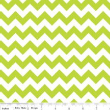 Small Chevron Lime