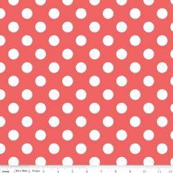 Medium Dot Medium Rouge