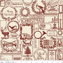 Lost & Found Christmas Main Red