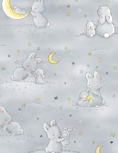 Little Star - Bunnies and little ones Grey