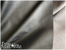 Textilbőr - metál sötétszürke