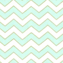 Glitz chic chevron pearlized blue