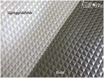 Textilbőr - Piramis ezüst