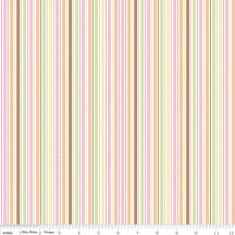 Sweet Baby Girl Stripes White 45×55 cm
