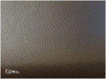 Textilbőr - sötétbarna, 145 cm széles