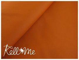 Textilbőr - sötét narancs, 145 cm széles