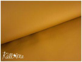Textilbőr - okker sárga, 145 cm széles