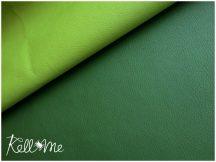 Textilbőr - (matt) zöld, 145 cm széles